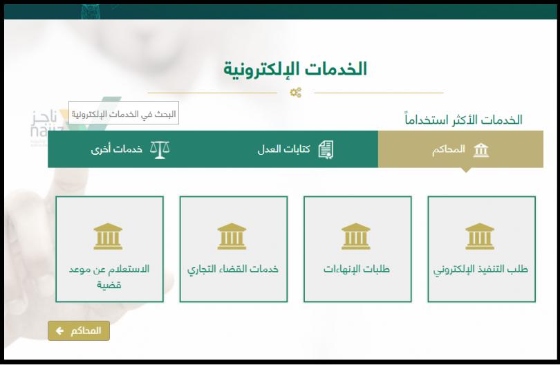 اصدار صك طلاق عن طريق موقع وزارة العدل السعودية عن طريق خطوتين رئيسيتين استعلام