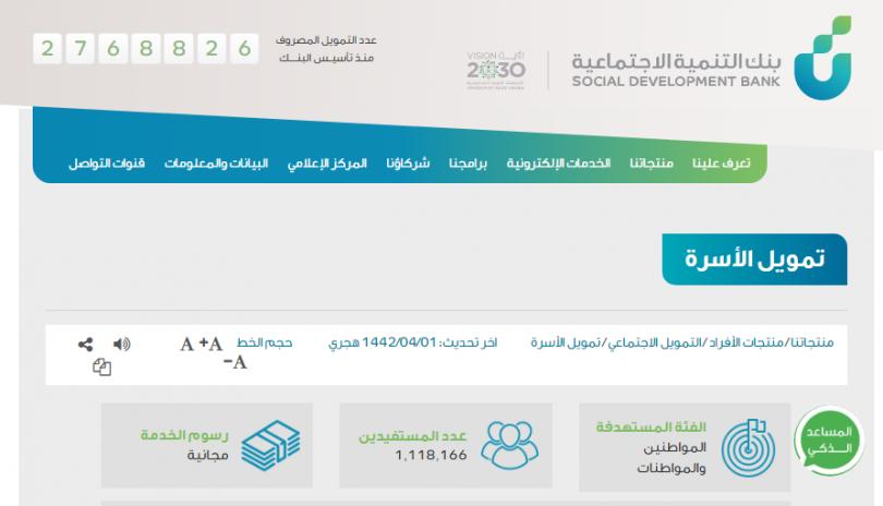 شروط بنك التنمية الاجتماعية للارامل